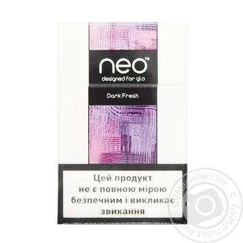 Стики Kent Neostiks Dark Fresh - купить, цены на Фуршет - фото 2