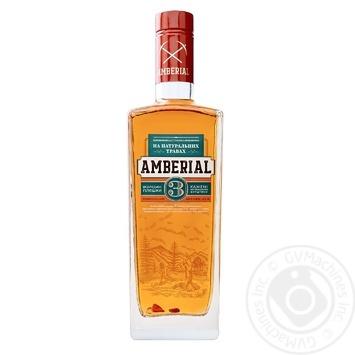 Tincture Aberial 38% 500ml glass bottle Ukraine