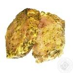 Стейк из бедра свинной в маринаде охлажденный