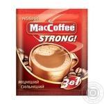 Напиток растворимый МасCoffee Strong 3в1 16г