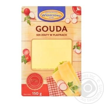 Сыр Wloszczowski Гауда 45% 150г