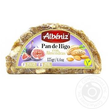 Хлеб Albeniz Инжирно-миндальный испанский без глютена и соли 125г