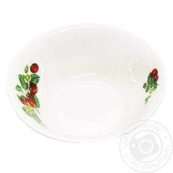 Oselya Salad Bowl Strawberry 12.5cm