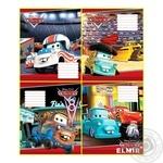 Зошит Cars 12 аркушів клітинка Мицар Ц630001У