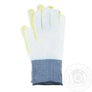 Перчатки синтетические Микроточка 1 пара - купить, цены на Фуршет - фото 1