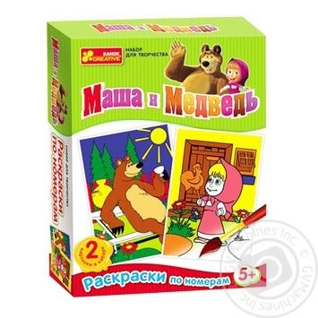 Ranok-Creative Coloring Masha and Bear 4004-5 - buy, prices for Furshet - image 1