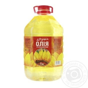Олія соняшникова рафінована Фуршет 5л - купити, ціни на Фуршет - фото 1