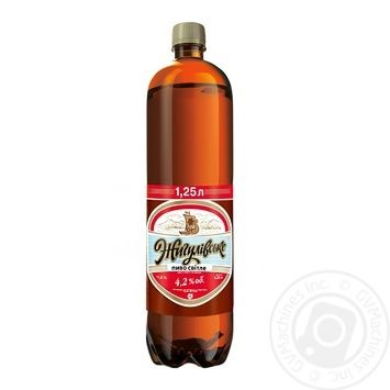 Пиво Жигулівське світле ПЕТ 1,25л