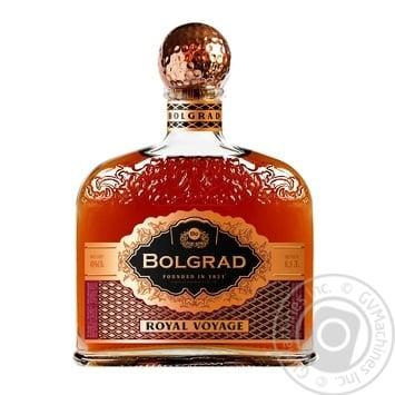 Bolgrad Royal Voyage 5 stars Cognac  40% 0,5l