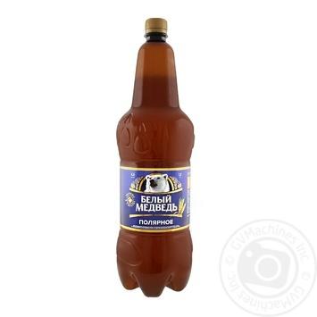 Beer Belyi medved 4.5% 1800ml plastic bottle Ukraine