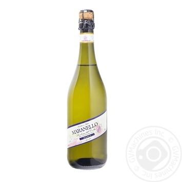 Вино игристое Maranello Lambrusco Bianco Amabile Emilia белое полусладкое 8% 0,75л