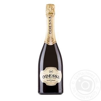 Шампанское Украины Odessa полусладкое белое 10,5-12,5% 0,75л
