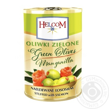 Helcom Green Olives Stuffed with Salmon 280g - buy, prices for Furshet - image 1