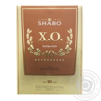 Бренди Shabo XO 40% 0,5л - купить, цены на Фуршет - фото 1