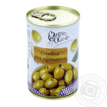 Buena Oliva Pitted Green Olives 0,314l - buy, prices for CityMarket - photo 1