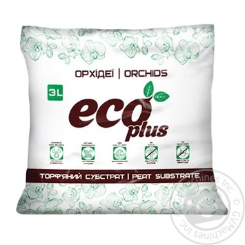 Eco Plus Orchid substrate 3l - buy, prices for Furshet - image 1