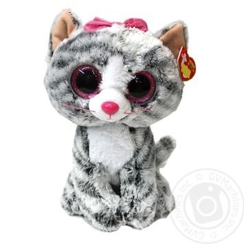 Игрушка TY Beanie Boo's Kiki котенок 15см