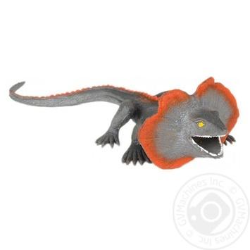 Іграшка-тягнучка Плащоносна ящірка Qunxing Toys