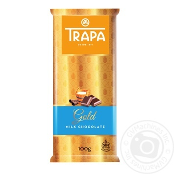 Шоколад Trapa Gold молочный 100г