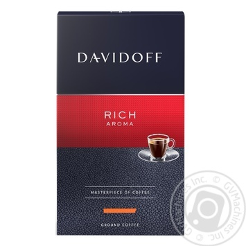 Coffee Davidoff Rich Aroma 250g ground - buy, prices for MegaMarket - image 1