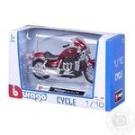 Мотоцикл Bburago 1:18 в асортименті