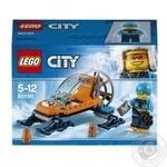 Конструктор Lego City Арктика ледяной глайдер 60190