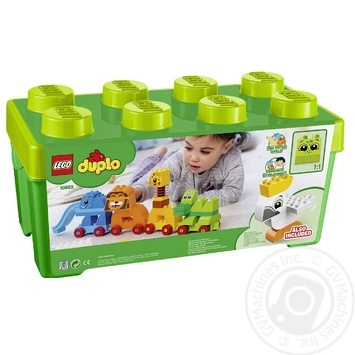 Конструктор Lego Коробка з кубиками Моя перша тварина 10863