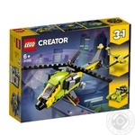 Lego Adventure with helicopter Constructor 31092