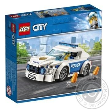 Конструктор Lego Полицейское патрульное авто 60239