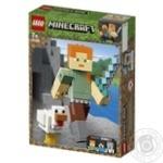 Конструктор Lego Алекс с цыпленком майнкрафт 21149