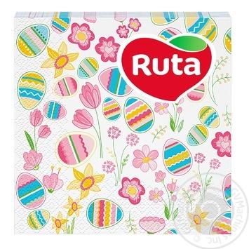 Ruta Napkins Easter Mix 33х33 20pcs - buy, prices for Furshet - image 1