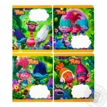 Зошит 12 аркушів клітинка Тролі MIZAR 288615