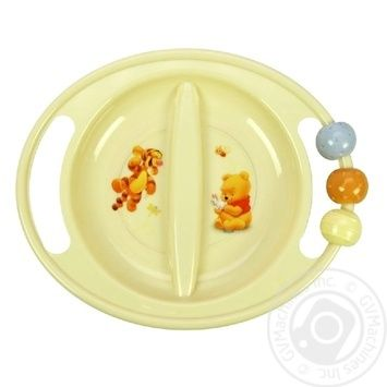Trudeau Winnie the Pooh Plastic Plate - buy, prices for Furshet - image 1