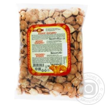 Крекер Бисквит-Шоколад Пасьянс 400г - купить, цены на Фуршет - фото 1