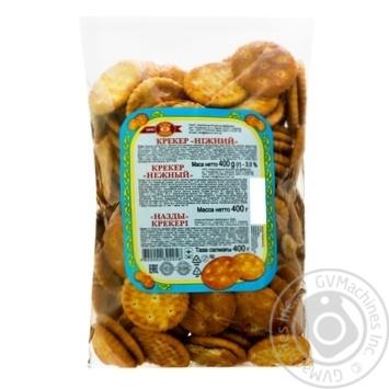 Крекер ХБФ Бисквит-Шоколад Нежный 400г - купить, цены на Фуршет - фото 1