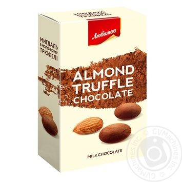 Lyubimov Almonds In Milk Chocolate Dragee - buy, prices for MegaMarket - image 1