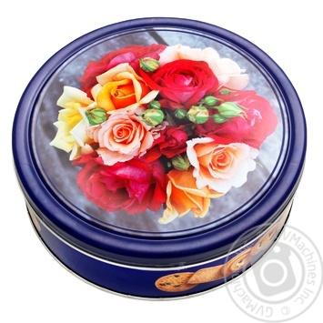Печенье Patisserie Matheo Сдобное розы 454г - купить, цены на Фуршет - фото 1