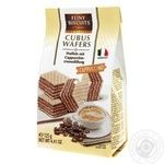 Вафли Feiny Biscuits Cappuccino с кремовой начинкой 125г