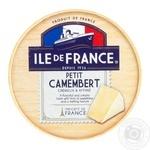 Ile de France petit camembert soft сheese 50% 125g