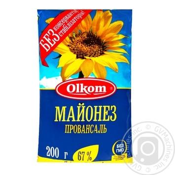 Mayonnaise Olkom Provansal 67% 200g - buy, prices for Novus - image 1