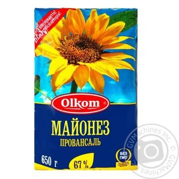 Olkom Smachno Provencal Mayonnaise - buy, prices for MegaMarket - image 1