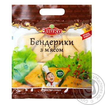 Elika Precooked Frozen With Meat Benderiki 390g - buy, prices for Auchan - photo 1