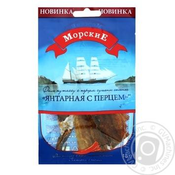 Янтарна з перцем Морские 18г - купити, ціни на Фуршет - фото 1