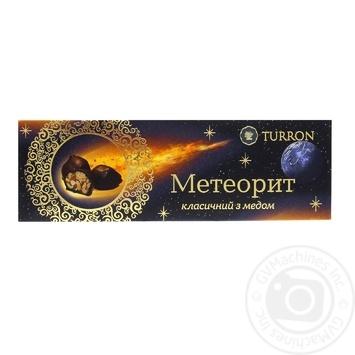 Цукерки Turron Метеорит класичні з медом 220г