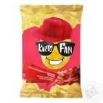 Чипсы KartoFan картофельные натуральные со вкусом бекона 70г