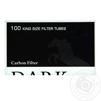 Гильзы Dark Horse Carbon 100шт - купить, цены на Фуршет - фото 1