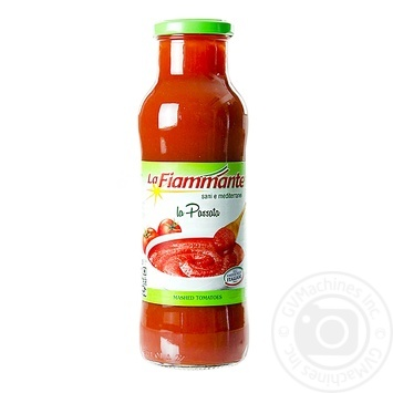 Пюре томатне La Fiammante 680г - купити, ціни на МегаМаркет - фото 1