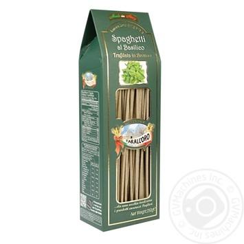 Макароны Tarall`oro Spaghetti базилик 250г