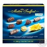 Конфеты MaitreTruffout шоколадные ассорти 200г