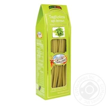 Макароны Tarall`oro Tagliolina Agli Spinaci 250г